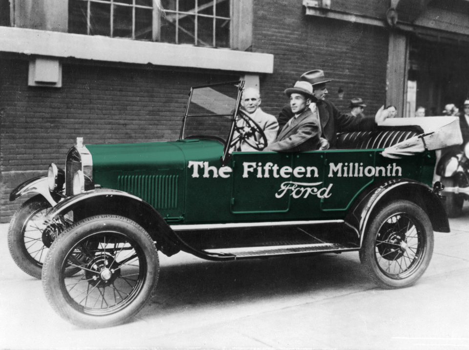 The Fifteen Millionth Ford Model T