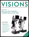 Visions magazine cover, April 2004