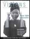 April 2006 cover of Visions magazine