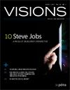 Visions cover, Issue 1, 2012