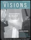 January 2006 cover of Visions magazine