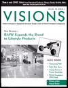 Visions magazine cover, July 2004