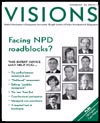Visions magazine cover, October 2003