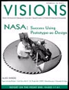 Visions magazine cover, October 2004